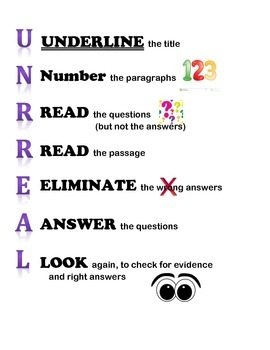 UNRREAL Reading Strategies