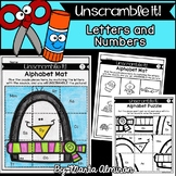 UNSCRAMBLE IT! {WINTER} {Letter Sounds and Numbers to 20}