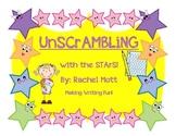 UNSCRAMBLING With The Stars Writing Fun!!