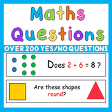 Early Years PreK Maths Questions