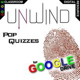 UNWIND 11 Pop Quizzes (by Neal Shusterman) (Created for Digital)