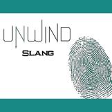 UNWIND 13 Slang Phrases - Body Parts (by Neal Shusterman)