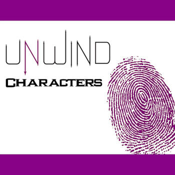 UNWIND Characters Organizer (by Neal Shusterman)