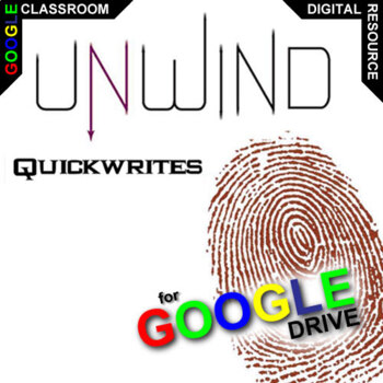 UNWIND Journal - Quickwrite Writing Prompts (Created for Digital)