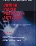 UNWIND: Paired Passages & Activities