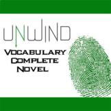 UNWIND Vocabulary Complete Novel (180 words)