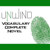 UNWIND Vocabulary Complete Novel (180 words)