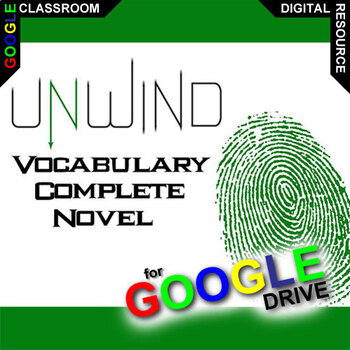 UNWIND Vocabulary List and Quiz Assessment (Created for Digital)