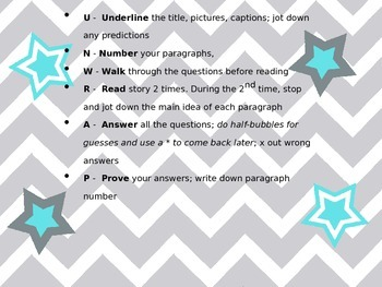 UNWRAP Reading Strategy ***Freebie***