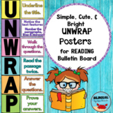 UNWRAP Reading Strategy Posters   Bright