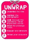 UNWRAP reading poster