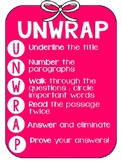 UNWRAP reading poster