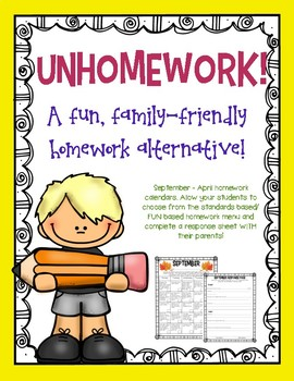 UNhomework: a fun, family-friendly alternative!