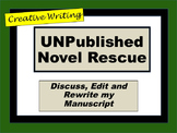 UNpublished Novel Rescue:Creative Writing or Lang Arts Connected BELL RINGERS