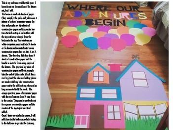 """""""UP"""" Welcome Wall"""