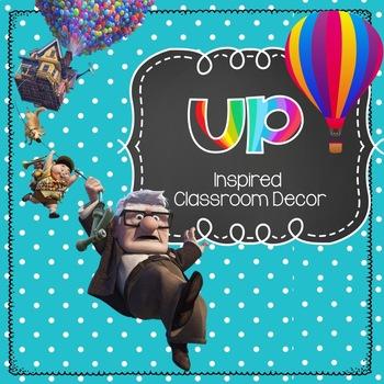 UP inspired Classroom decoration MEGA bundle! -EDITABLE!