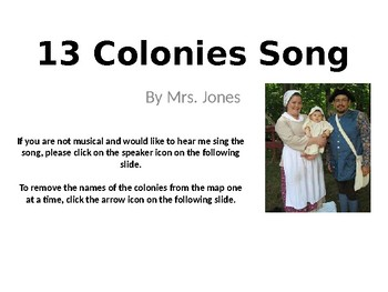 UPDATED 13 Colonies Song