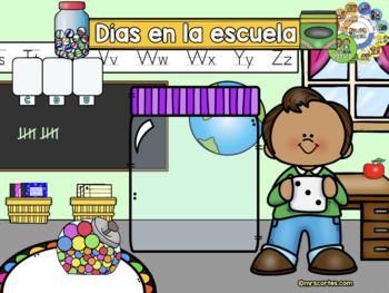 ACTIVBOARD Calendar Math-AGOSTO (Spanish)