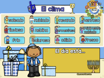 ACTIVBOARD Calendar Math- Diciembre(Spanish)