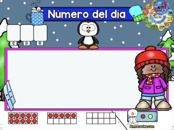 ACTIVBOARD Calendar Math- Enero(Spanish)