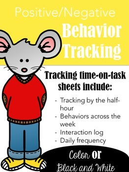 UPDATED: Behavior Tracking Templates