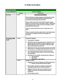 UPDATED Chains (Laurie Halse Anderson) Ch 1 Lesson Plan, Classwork, Exit Ticket