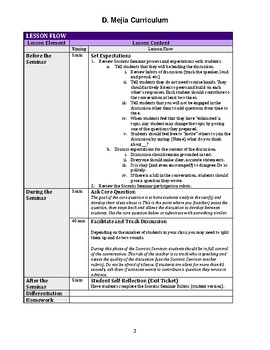 UPDATED Chains (Laurie Halse Anderson) Socratic Seminar Facilitation Lesson