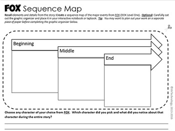 FOX Reading Lesson Activities with Interactive Notebook / Lapbook Activities