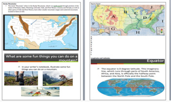 UPDATED GSE 3rd Social Studies Study Guide with EXTENDED VERSION