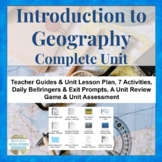 Geography Introduction Complete Unit