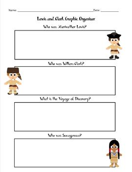 UPDATED! Lewis and Clark Graphic Organizer