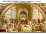 UPDATED Renaissance Art Powerpoint- Classical vs. Middle Ages vs. Ren. Art