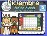 SMARTBOARD Calendar Math- Diciembre(Spanish)