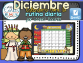 SMARTBOARD Calendar Math- Diciembre (Spanish)