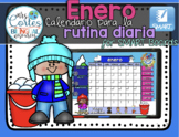 SMARTBOARD Calendar Math-Enero (Spanish)