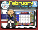 SMARTBOARD Calendar Math-February  (English)