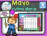 SMARTBOARD Calendar Math- Mayo  (Spanish)