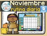 SMARTBOARD Calendar Math-Noviembre  (Spanish)