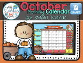 SMARTBOARD Calendar Math- October  HALLOWEEN VERSION (English)