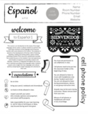 UPDATED! Spanish Syllabus - Completely Editable now in Goo