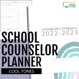 2017-2018 Ultimate School Counselor Planner (Believe Theme)