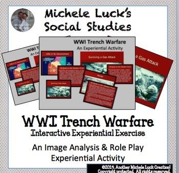 WWI Trench Warfare Activity