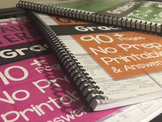 *UPGRADE* from Digital to Spiral Bound Hard Copy on ANY Practice & Assess Packet