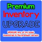 UPGRADE to PREMIUM Spelling Inventory Templates