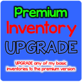 UPGRADE to PREMIUM Bundle Spelling Inventory Templates