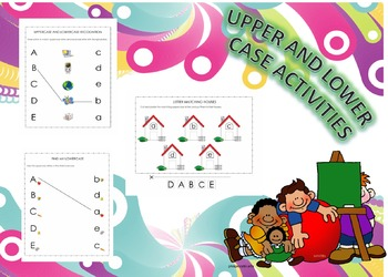 UPPER AND LOWER CASE ACTIVITIES