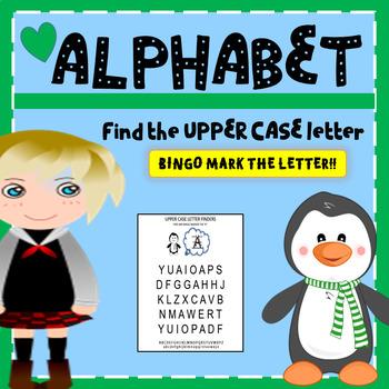 FIND THE UPPER CASE