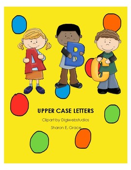 UPPER CASE PLAY DOUGH LETTERS