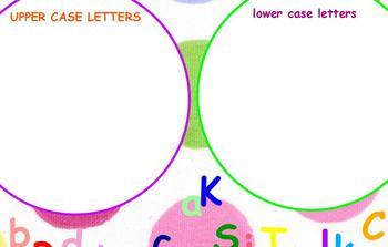 UPPER CASE and lower case LeTtEr SOrTiNg Flipchart
