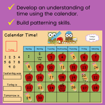 Interactive Calendar Math for SMART Board ~Upper Elementary~
